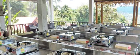 Phuket Thai Cooking Academy Kitchen