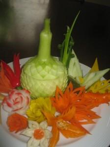 Gourd & Flowers
